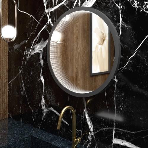 Зеркало с подсветкой для ванной комнаты Инфинити
